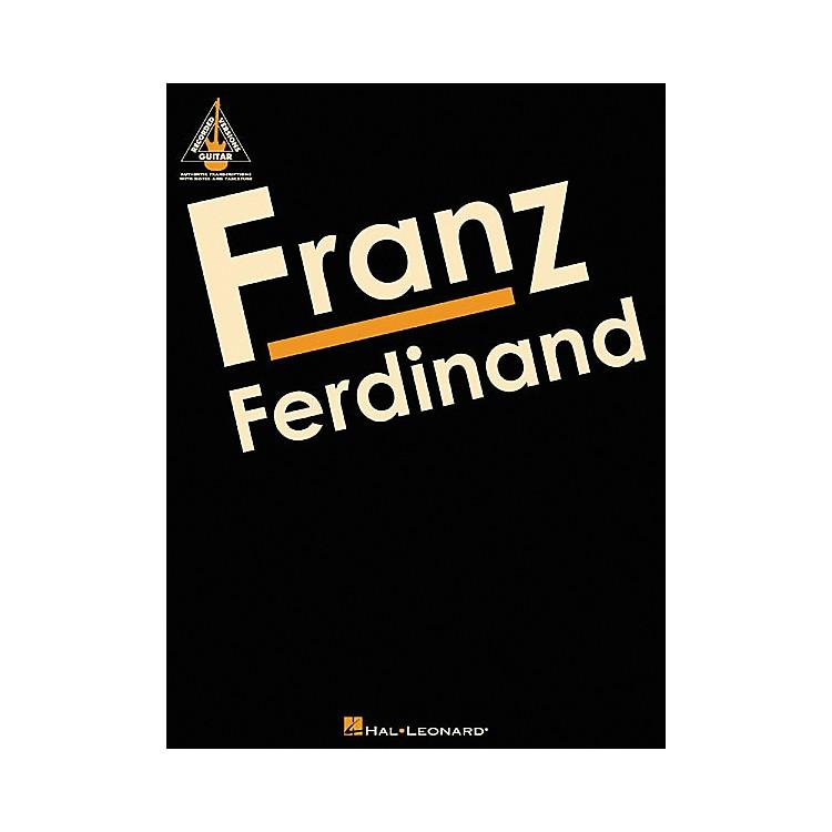 Hal LeonardFranz Ferdinand Guitar Tab Songbook