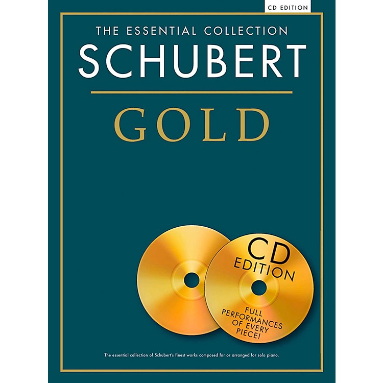 Music Sales Franz Schubert - Schubert Gold The Essential Collection Book/2 CD