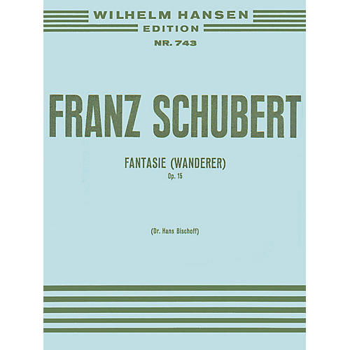 Music Sales Franz Schubert: Fantasy 'the Wanderer' Op.15 Music Sales America Series-thumbnail