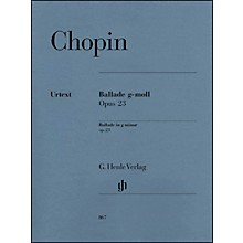 G. Henle Verlag Frdric Chopin - Ballade in G minor Op. 23 for Piano