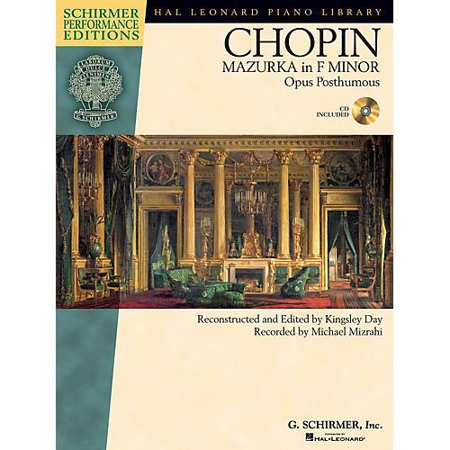 G. Schirmer Frédéric Chopin - Mazurka in F minor, Op. post. Schirmer Performance Editions BK/CD by Michael Mizrahi-thumbnail