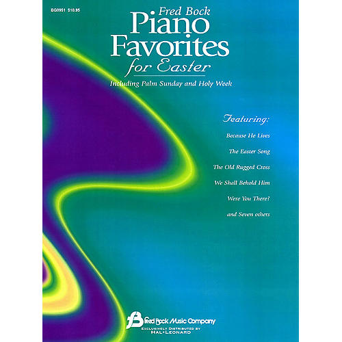 Fred Bock Music Fred Bock Piano Favorites for Easter Fred Bock Publications Series-thumbnail