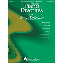 Fred Bock Music Fred Bock Piano Favorites for Quiet Reflection Fred Bock Publications Series (Intermediate)