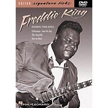 Hal Leonard Freddie King Guitar Signature Licks (DVD)