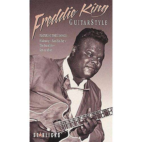 Hal Leonard Freddie King Guitar Style VHS Video
