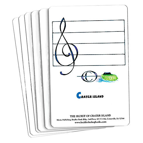Hal Leonard Freddie The Frog And The Secret Of Crater Island Flash Card Set-thumbnail