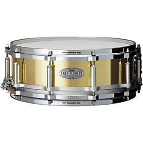 pearl free floating brass snare drum 14 x 5 in musician 39 s friend. Black Bedroom Furniture Sets. Home Design Ideas