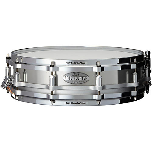 Pearl Free Floating Stainless Steel Snare Drum 14 x 3.5 in.