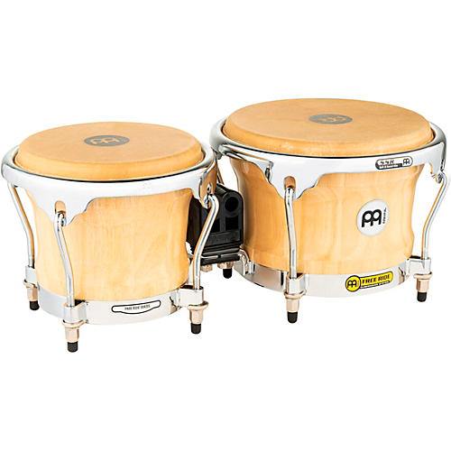Meinl Free Ride Series FWB400 Wood Bongos 8.5 x 7 in. Natural