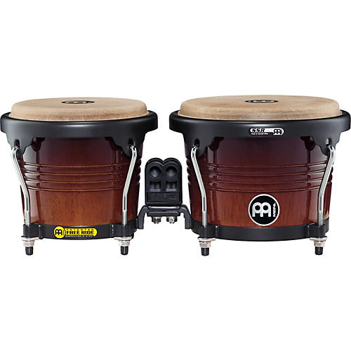 Meinl Free Ride Series Wood Bongo Coffee Burst