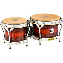 Meinl Free Ride Series Woodcraft Bongos Antique Mahogany Burst 7 in. and 9 in.