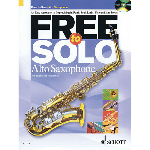 Schott Free to Solo Alto Saxophone Schott Series-thumbnail