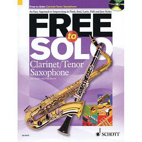 Schott Free to Solo Clarinet or Tenor Sax Schott Series-thumbnail