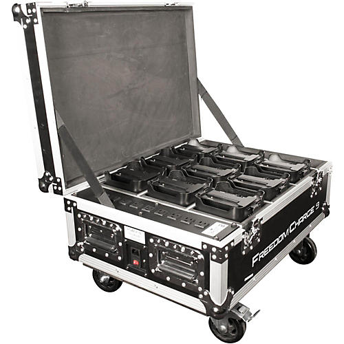 CHAUVET DJ Freedom Charge 9 Stage/DJ Light Rolling Road Case-thumbnail