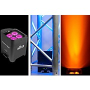 Freedom Par Hex-4 Battery-Powered LED Wash/Black Light