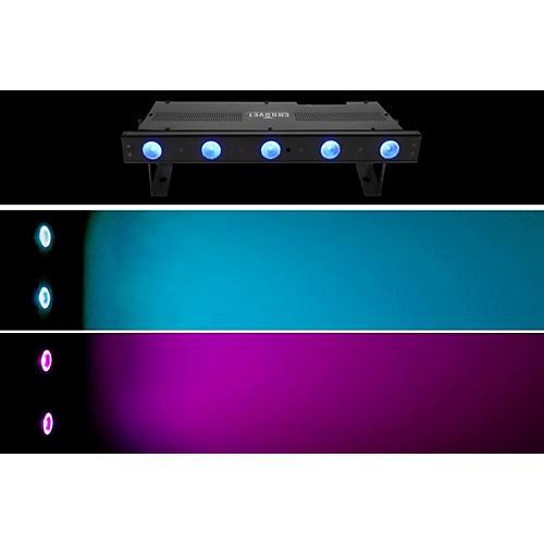 Chauvet Freedom Strip Mini Quad-5 RGBA Wireless Quad Color LED Wash Black