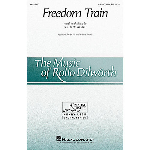 Hal Leonard Freedom Train 4 Part Treble composed by Rollo Dilworth-thumbnail