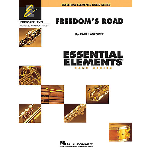 Hal Leonard Freedom's Road Concert Band Level 0.5 Composed by Paul Lavender-thumbnail