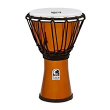 Toca Freestyle ColorSound Djembe Metallic Orange 7 in.