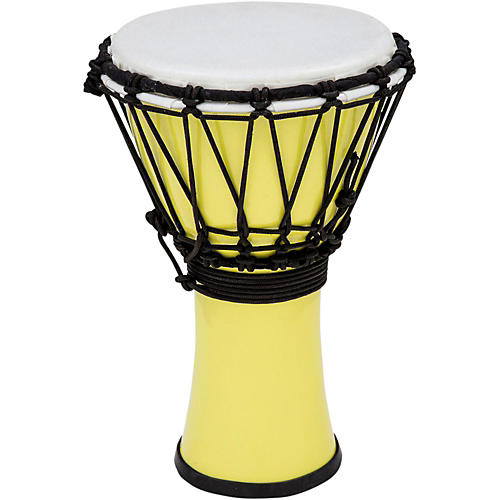 Toca Freestyle ColorSound Djembe Pastel Yellow 7 in.