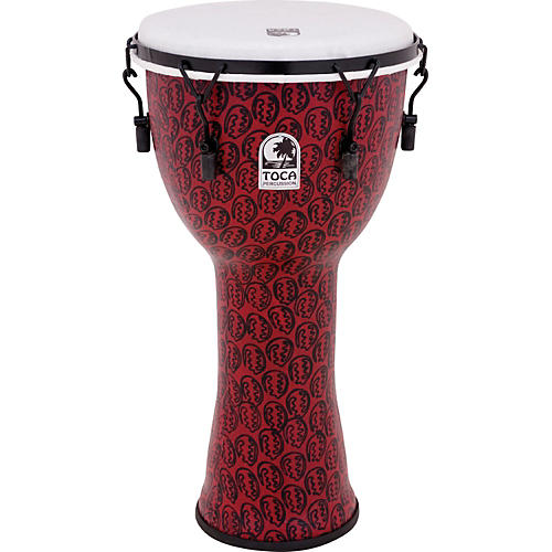 Toca Freestyle II Mechanically-Tuned Djembe 10 in. Gold Mask