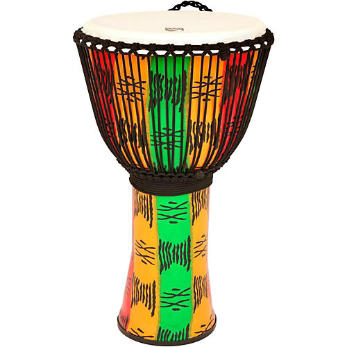 Toca Freestyle II Rope-Tuned Djembe 10 in. Spirit