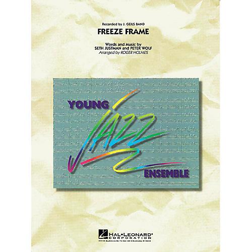 Hal Leonard Freeze Frame Jazz Band Level 3 by J. Geils Arranged by Roger Holmes-thumbnail