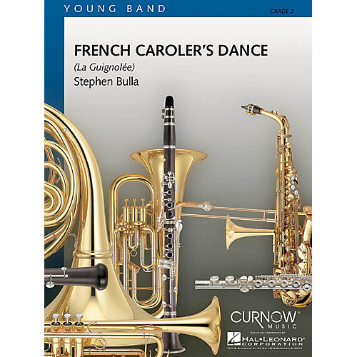 Curnow Music French Caroler's Dance (Grade 2 - Score Only) Concert Band Level 2 Arranged by Stephen Bulla-thumbnail