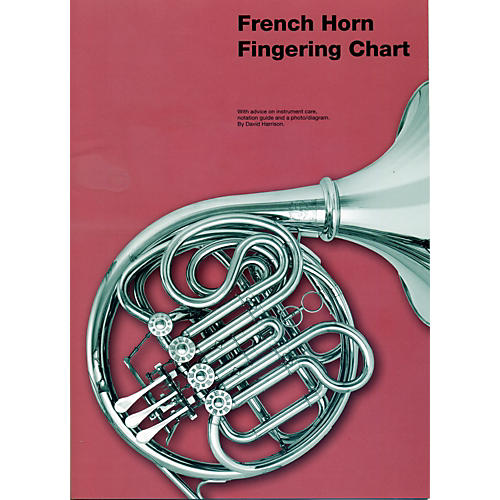 Music Sales French Horn Fingering Chart-thumbnail