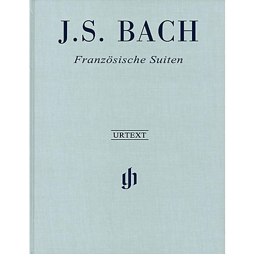 G. Henle Verlag French Suites BWV 812-817 Revised Edition Clothbound Henle Music Hardcover by Bach Edited by Scheideler-thumbnail