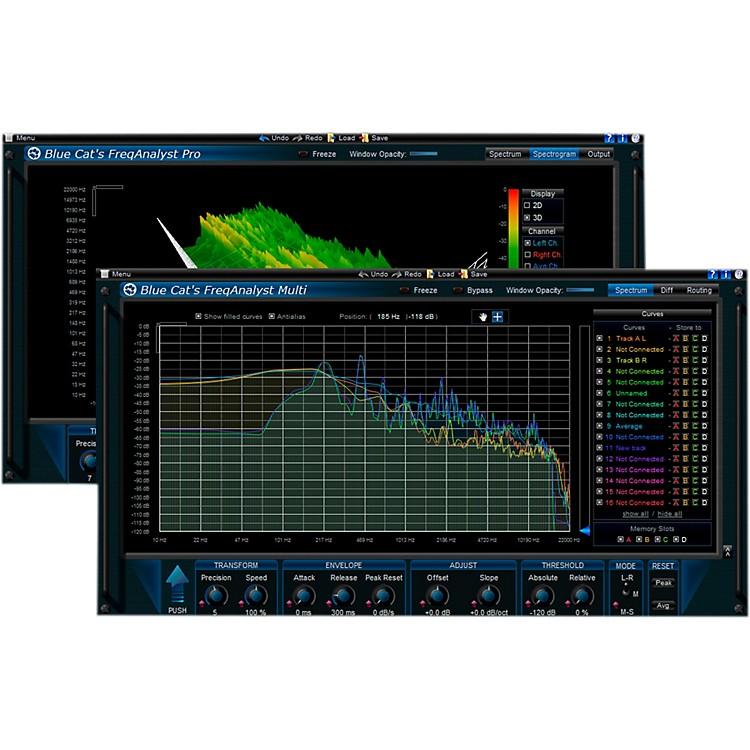 Blue Cat AudioFreqAnalyst Frequency Analysis Plug-in PackSoftware Download