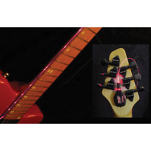 Fretlord Fret OptiX Guitar Fretmarker Light Red 25.5 In Scale