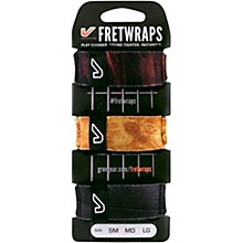 Gruv Gear FretWraps 3-Pack Wood Print Medium