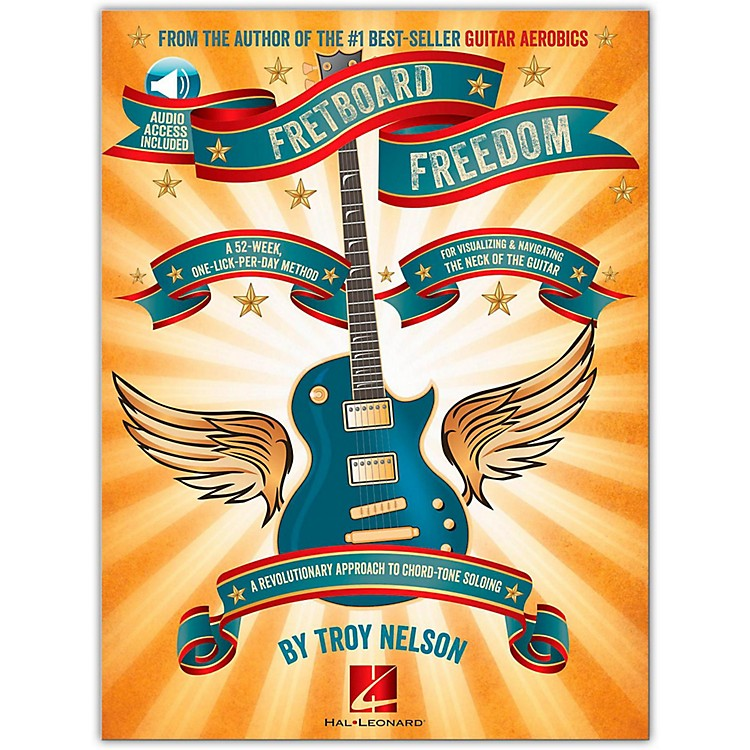 Hal Leonard Fretboard Freedom Book/CD - From the Author of the Best-Seller Guitar Aerobics