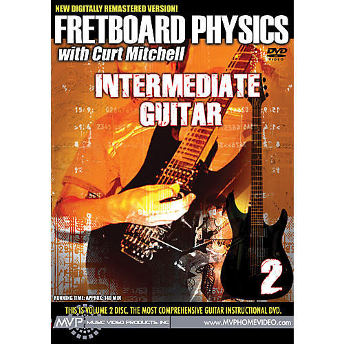 MVP Fretboard Physics 2 DVD - Intermediate Guitar