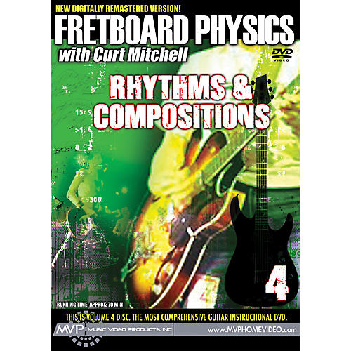 MVP Fretboard Physics 4 DVD - Rhythms & Compositions for Guitarists