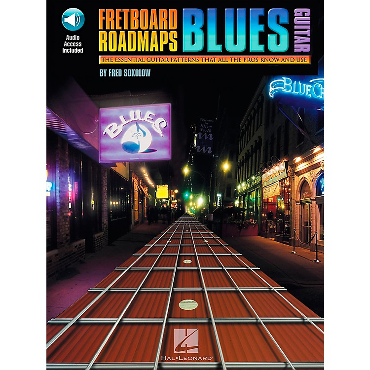 Hal Leonard Fretboard Roadmaps - Blues Guitar Book/CD