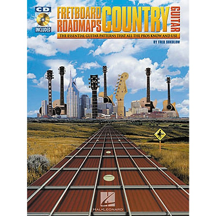 Hal LeonardFretboard Roadmaps - Country Guitar (Book/CD)