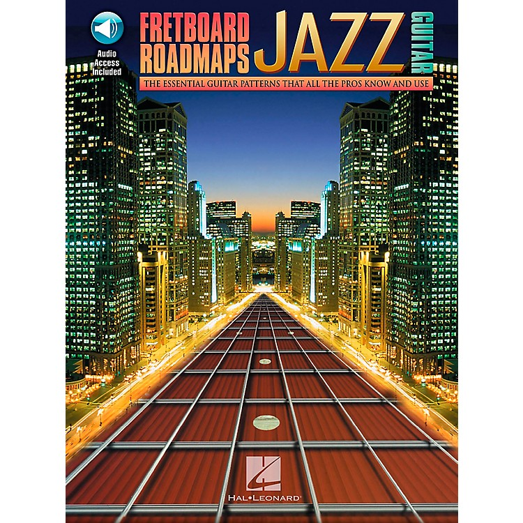 Hal LeonardFretboard Roadmaps - Jazz Guitar Book/CD