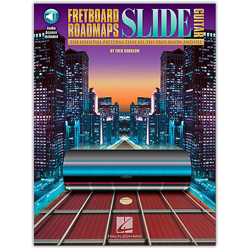 Hal Leonard Fretboard Roadmaps - Slide Guitar (Book/Online Audio)-thumbnail