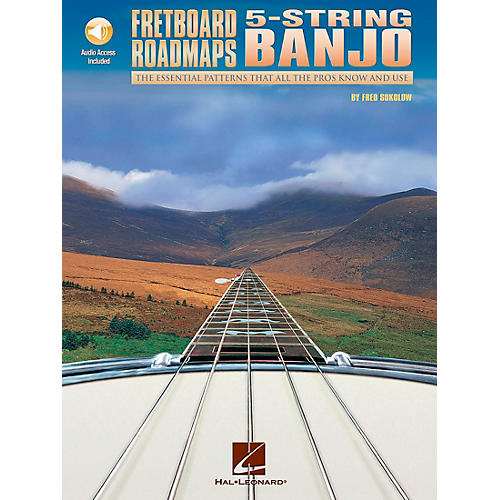 Hal Leonard Fretboard Roadmaps — 5-String Banjo (Book/CD)