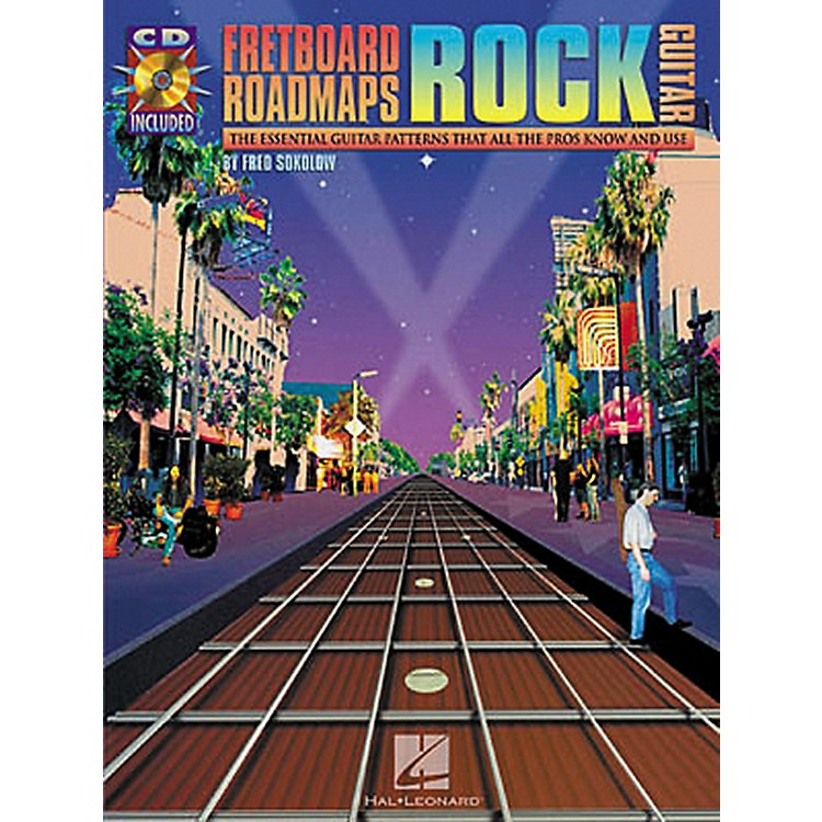 Hal Leonard Fretboard Roadmaps: Rock Guitar (Book/CD)