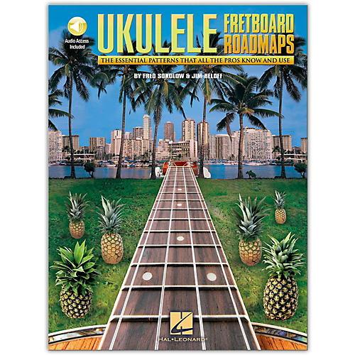 Hal Leonard Fretboard Roadmaps Ukulele (Book/Online Audio)-thumbnail