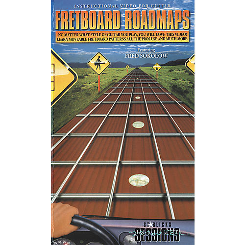 Hal Leonard Fretboard Roadmaps VHS Video