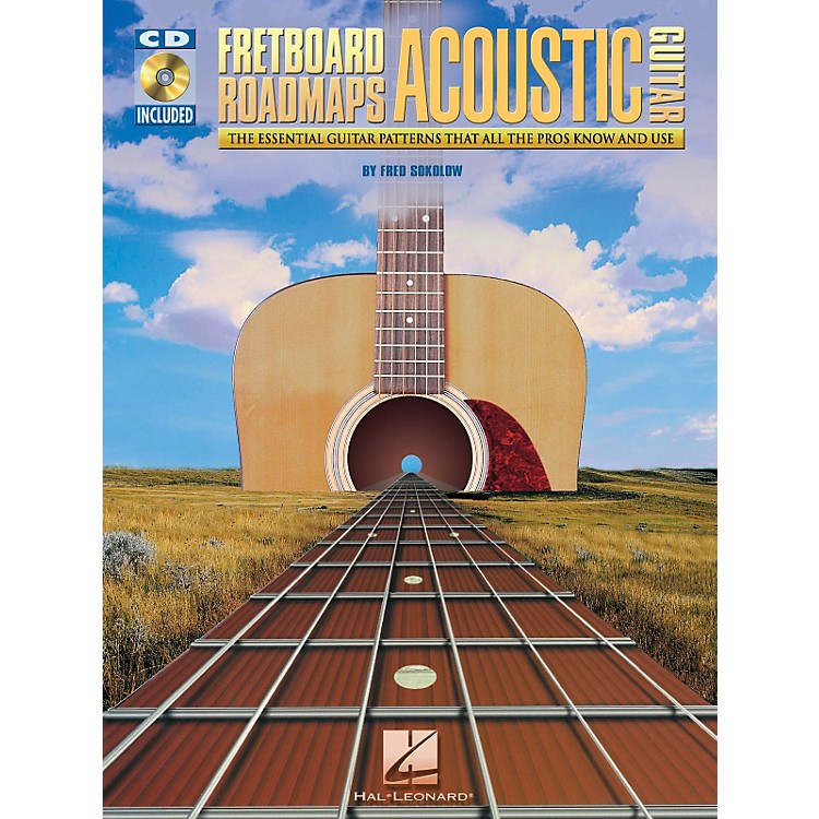 Hal Leonard Fretboard Roadmaps for Acoustic Guitar Book and CD