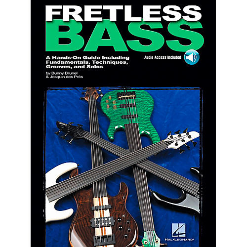 Hal Leonard Fretless Bass (Book/CD)
