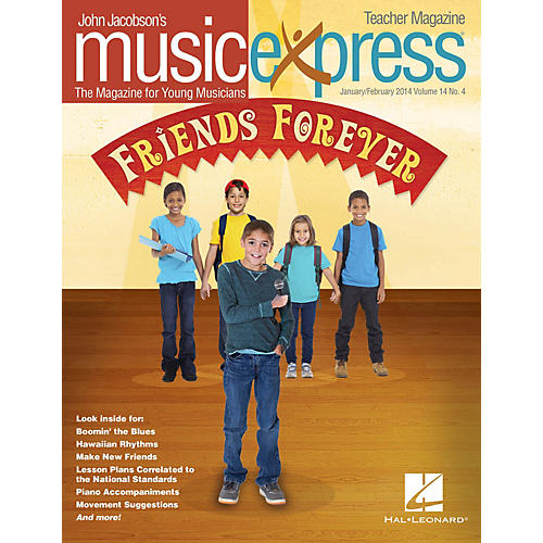 Hal Leonard Friends Forever Vol. 14 No. 4 PREMIUM COMPLETE PAK by Pete Seeger Arranged by Roger Emerson-thumbnail