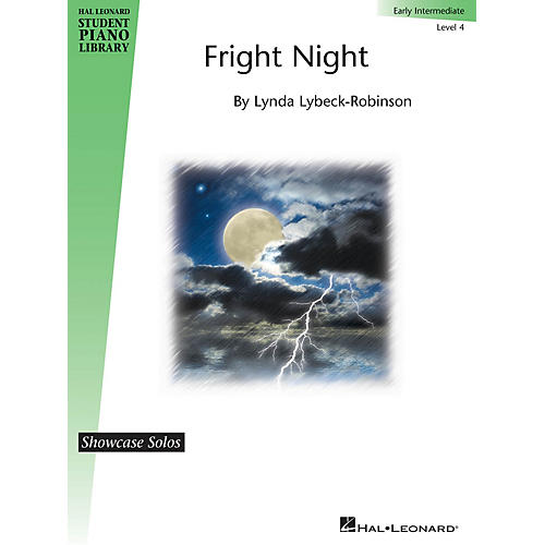 Hal Leonard Fright Night Piano Library Series by Lynda Lybeck-Robinson (Level Early Inter)-thumbnail