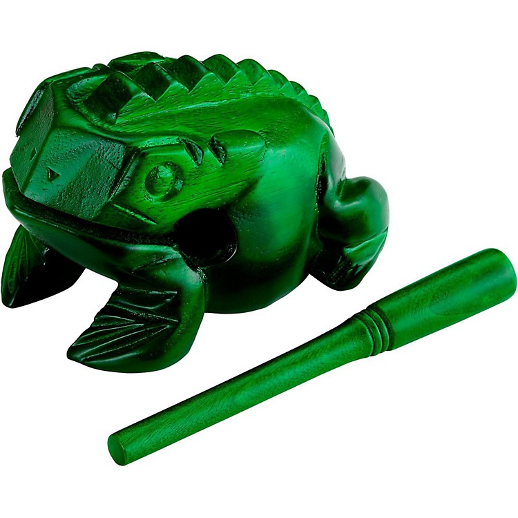 Nino Frog Guiro Green Large
