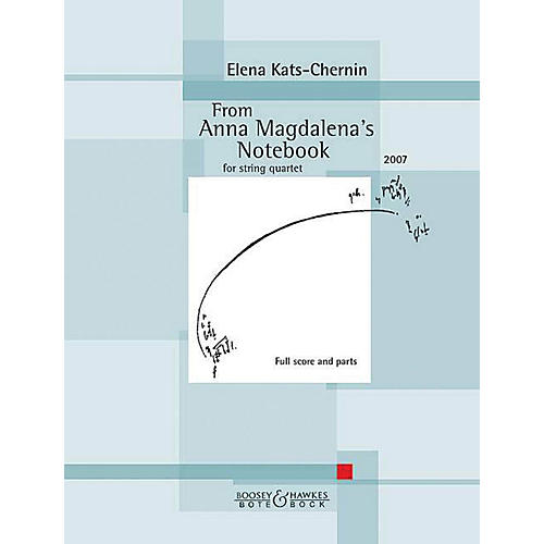 Boosey and Hawkes From Anna Magdalena's Notebook Boosey & Hawkes Chamber Music by Bach Arranged by Elena Kats-Chernin-thumbnail